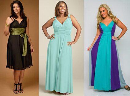 платья больших размеров недорого